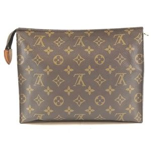Pochette Toiletry 25 Cosmetic Canvas Clutch